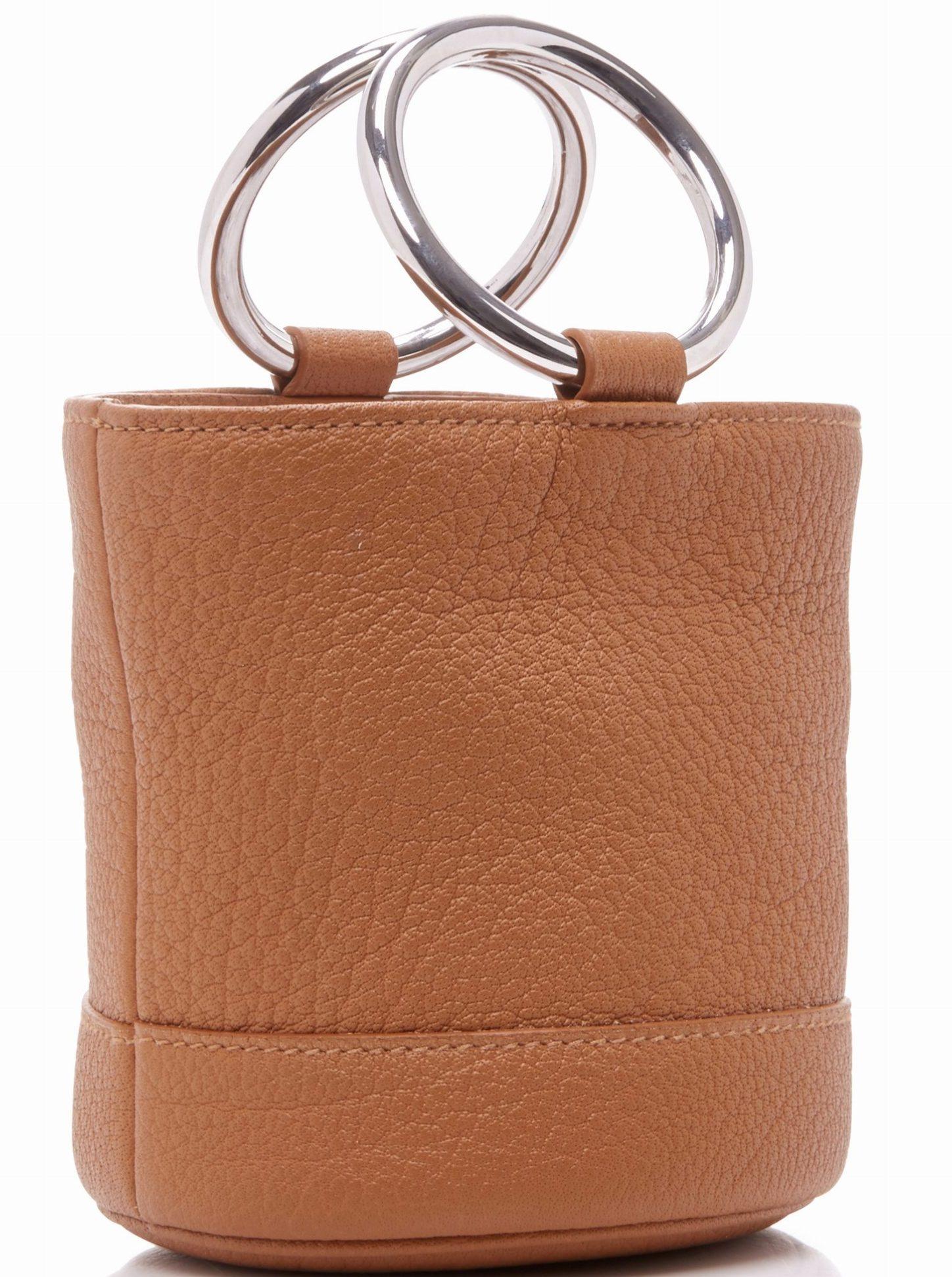 Simon Miller Bonsai 15 Bucket Bag with Strap $490