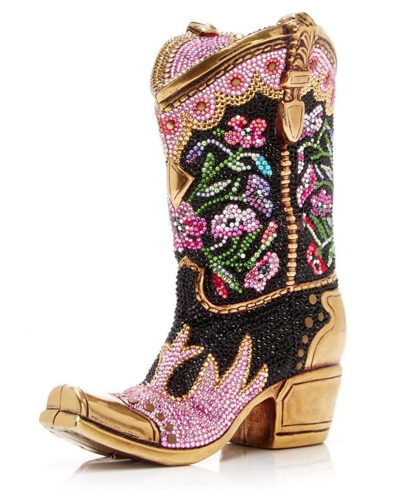 Judith Leiber Couture Belle Cowgirl Boot Clutch 2