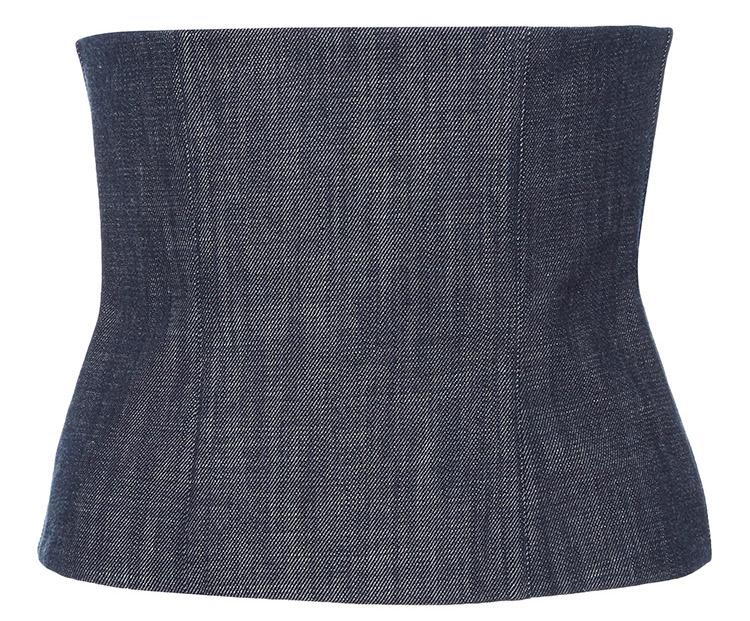 Tibi denim corset