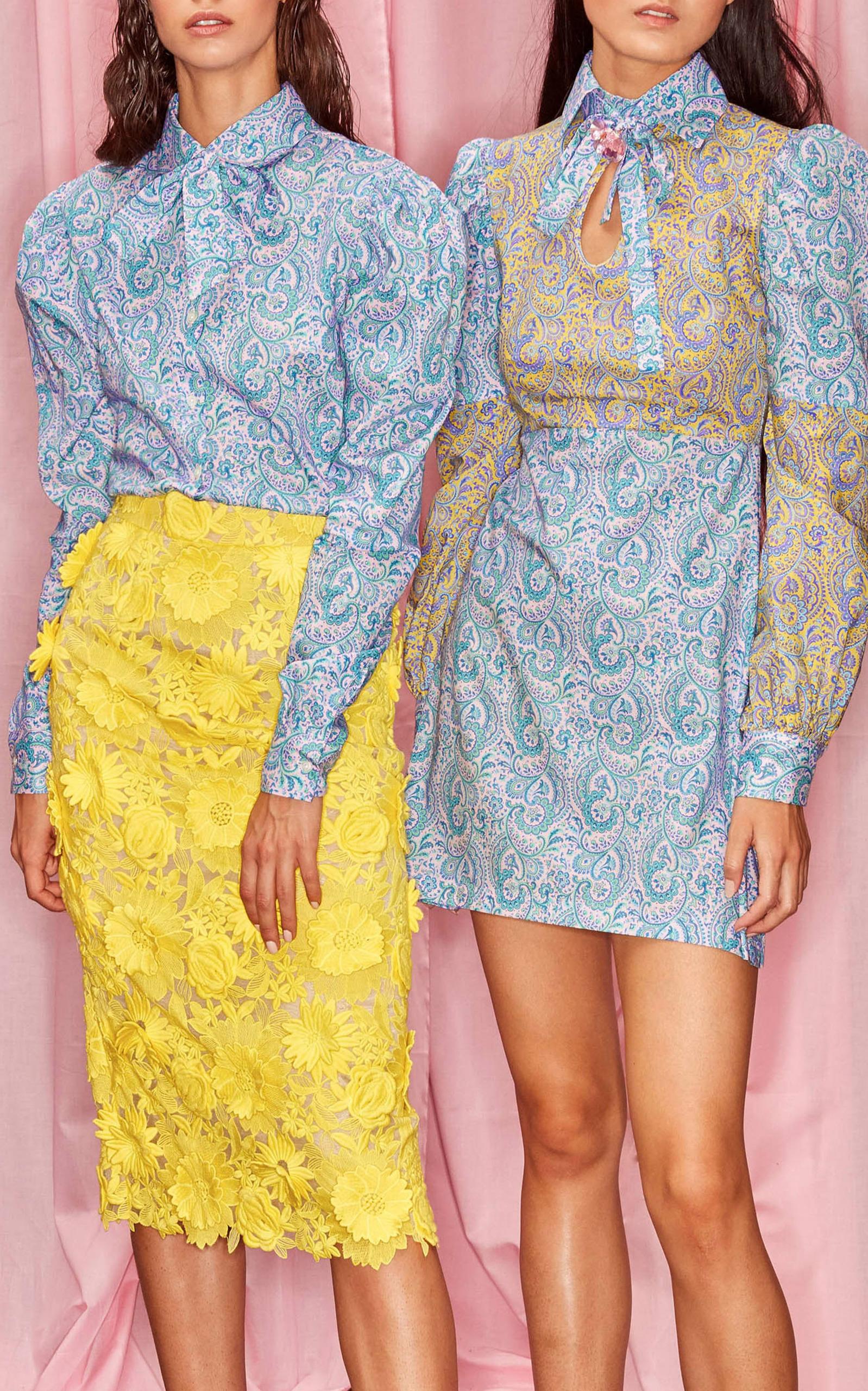 Alcoolique Araka Floral skirt - image via ModaOperandi.com