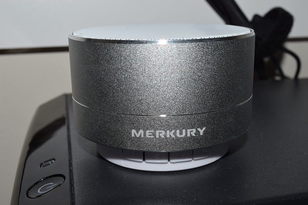 Merkury Innovations Bravo Aluminum Mini Wireless Bluetooth Speaker Rakuten Marketing ranbonusbox Neiman Marcus Last Call