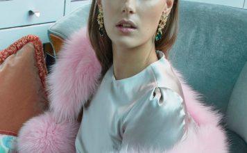 Anabela Chan18K yellow gold multi-stone earrings