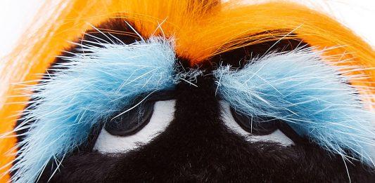 Fendi bag bugs Bag Bugs Key Charm with Fur