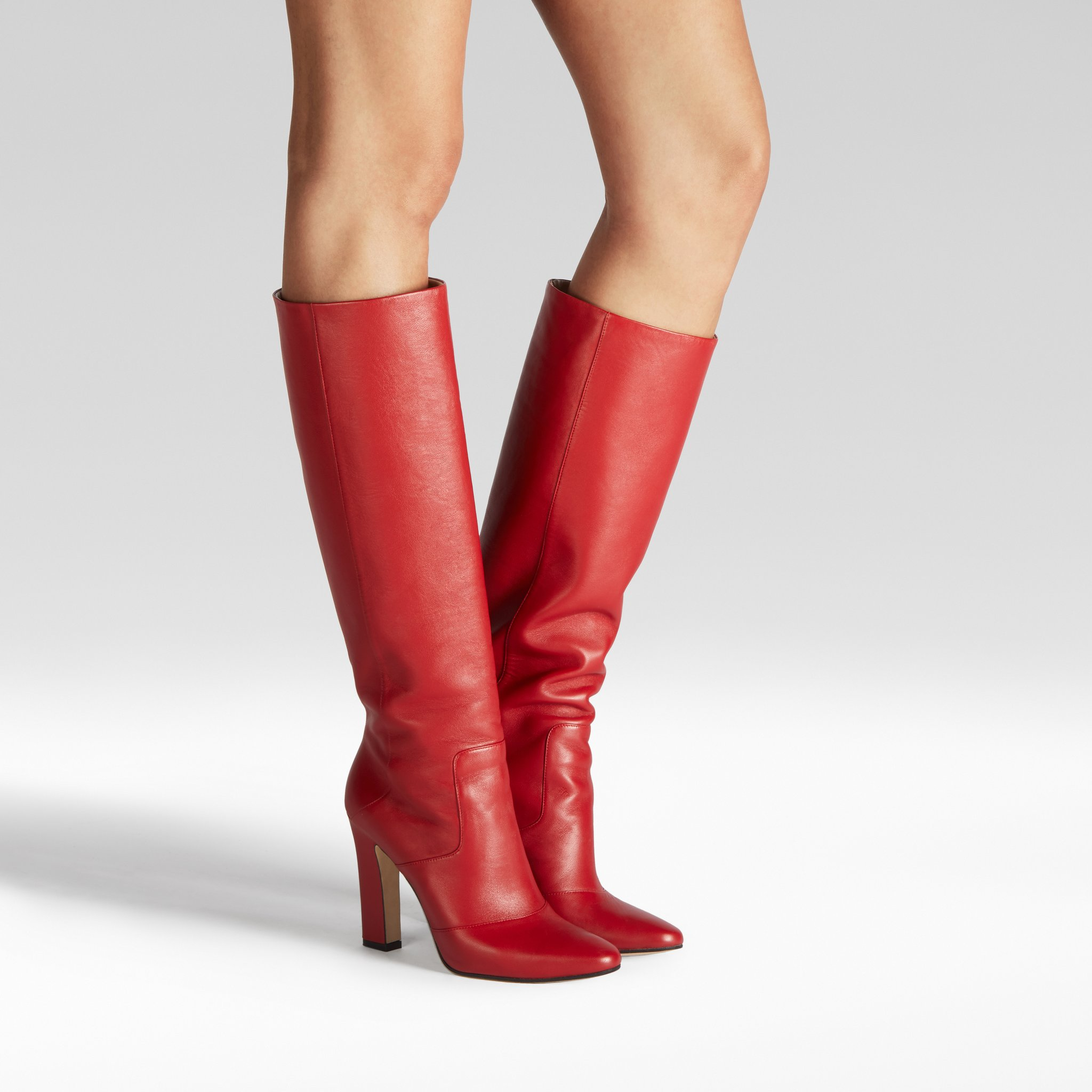 Tamara Mellon boots lust knee high boots nappa