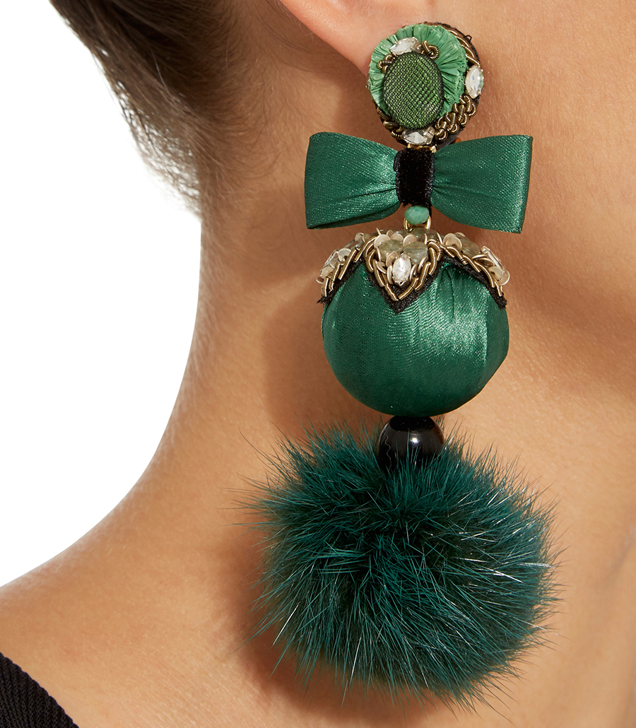 Stylish clip on earrings - Ranjana Khan earrings