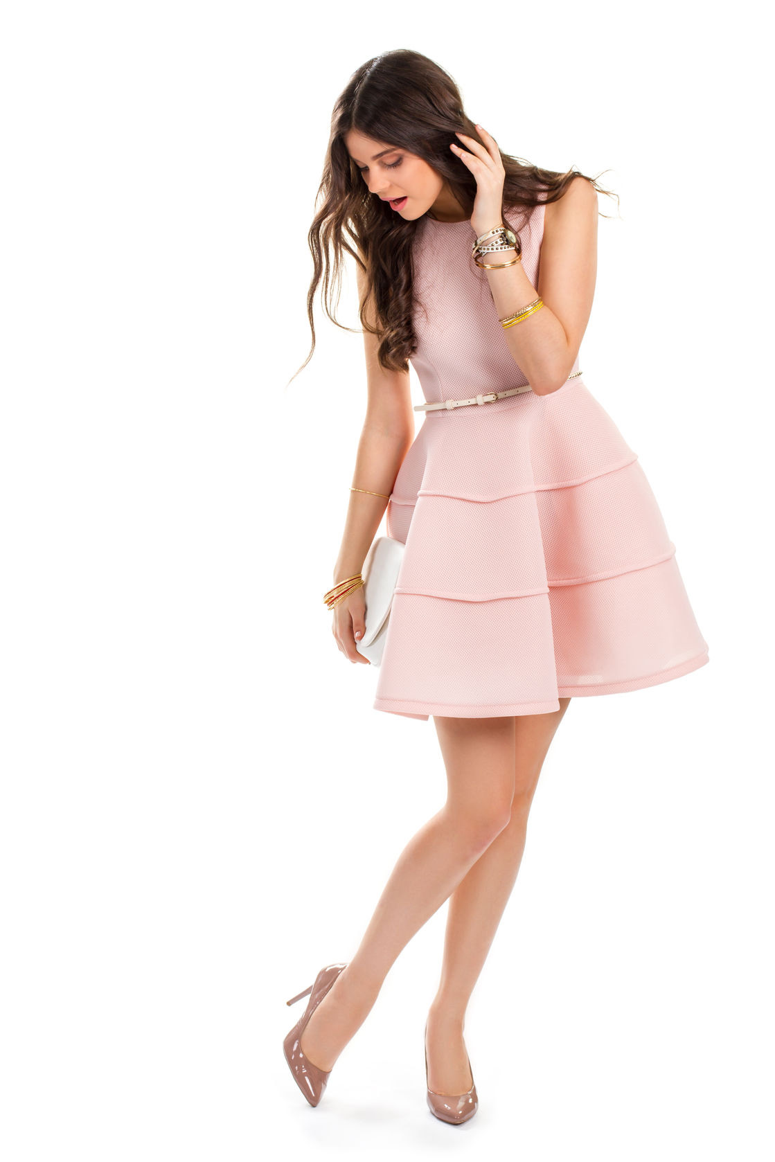 Pink Dress Heels What Color