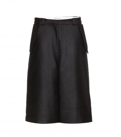 Acne Studios Hunter Wool Shorts