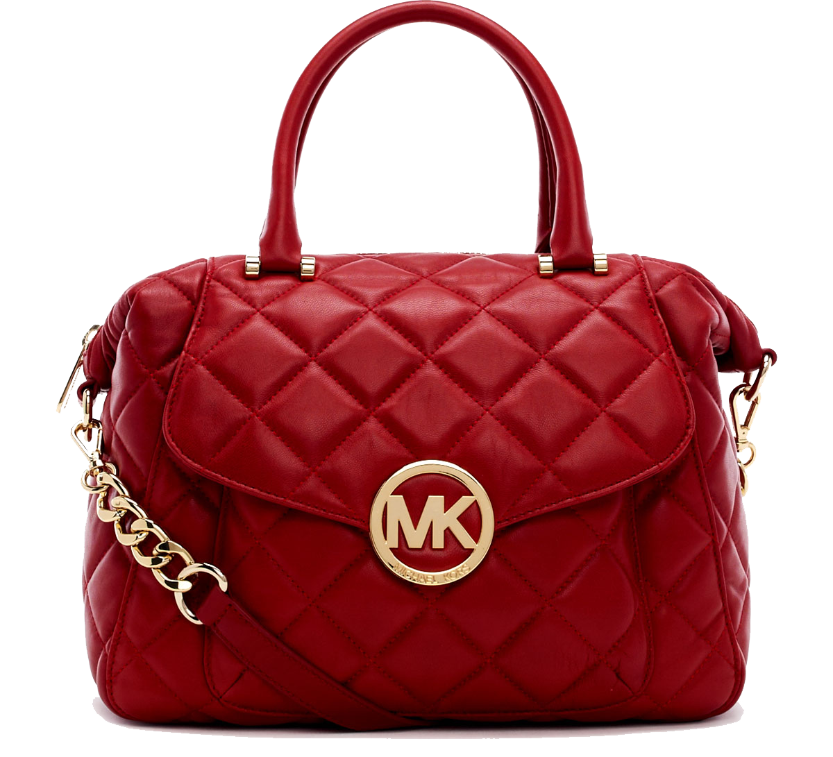 079adc843534cf Michael Michael Kors Large Fulton Quilted Leather Satchel Bag $398  neimanmarcus.com