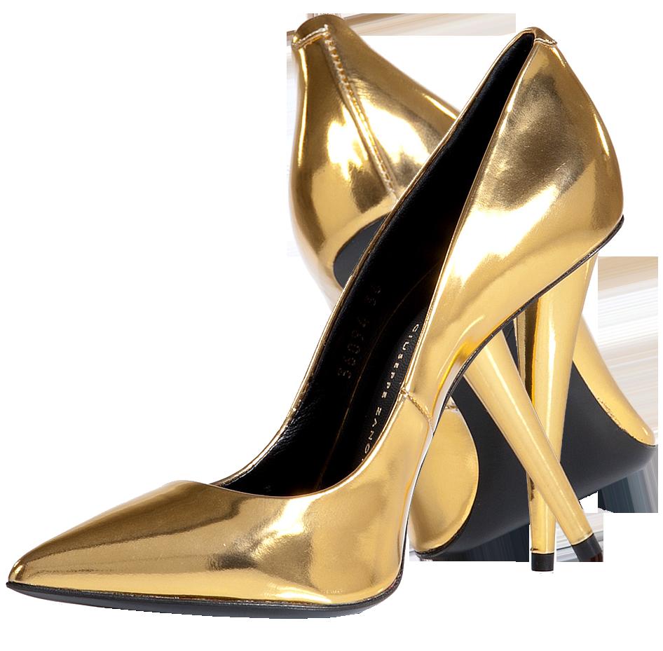 Giuseppe-Zanotti-Gold-Metallic-Boxcalf-Pointed-Toe-Pumps