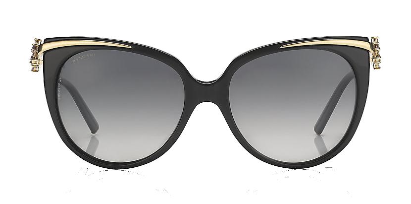 Bulgari Flower Cat Eye Sunglasses