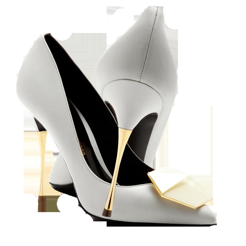 Nicholas Kirkwood white gold metallic stiletto heel Gilded Bijoux Leather Pumps