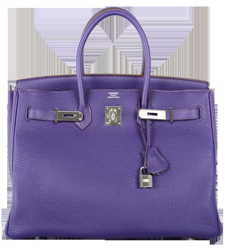 Hermes Iris Togo Leather 35cm Birkin Bag