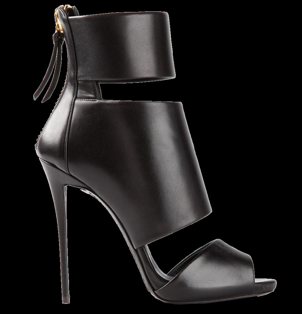 8864b2dfe0b Black leather three straps sandals from Giuseppe Zanotti Design