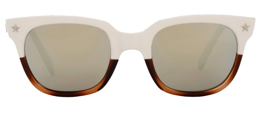 664d126d7a0 Sheriff and Cherry Acetate WayFarer Sunglasses metal star detail