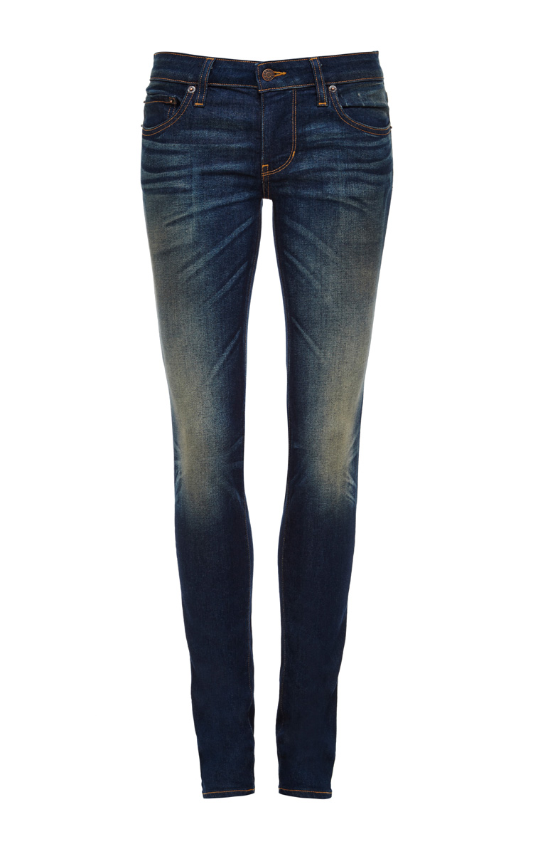 6397 Denim Skinny Faded Jeans