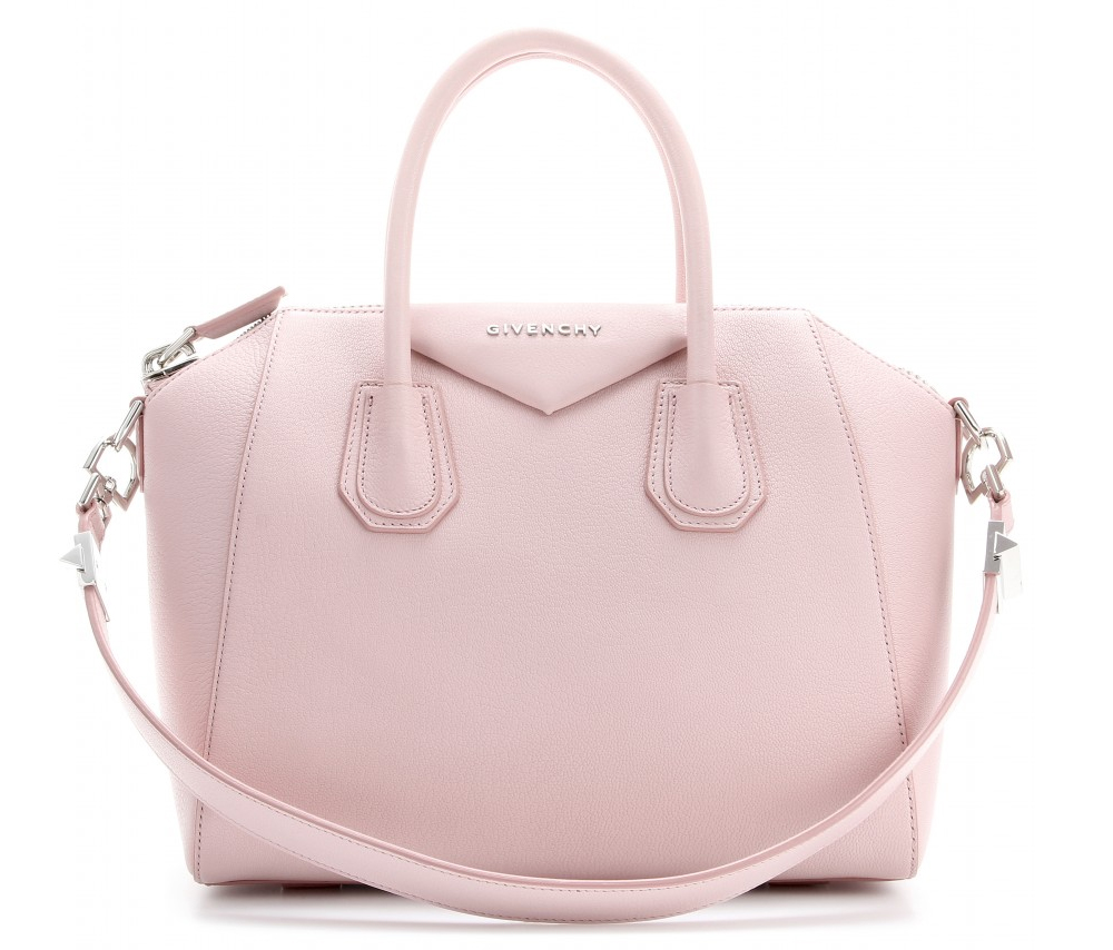 275ad396ab Givenchy Antigona light pink small leather tote bag