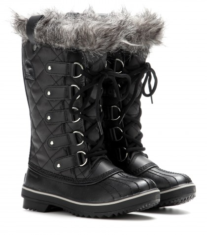 Sorel Tofino Leather And Rubber Boots