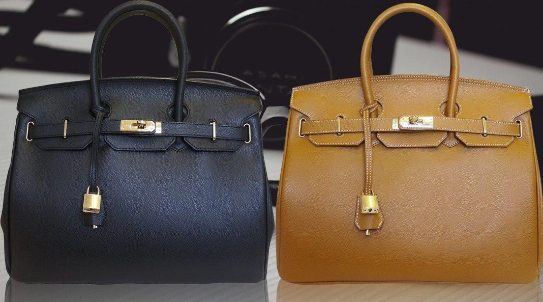 Carbotti Birkin Inspired Style Classico Leather Handbag