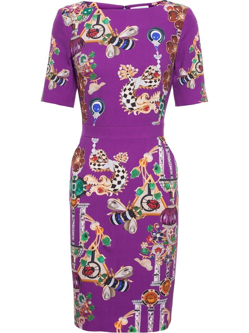 MARY KATRANTZOU 'Harlie' stretch dress