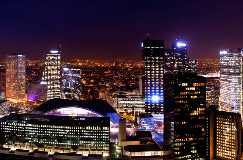 La Defense the largest dedicated business district in Europe