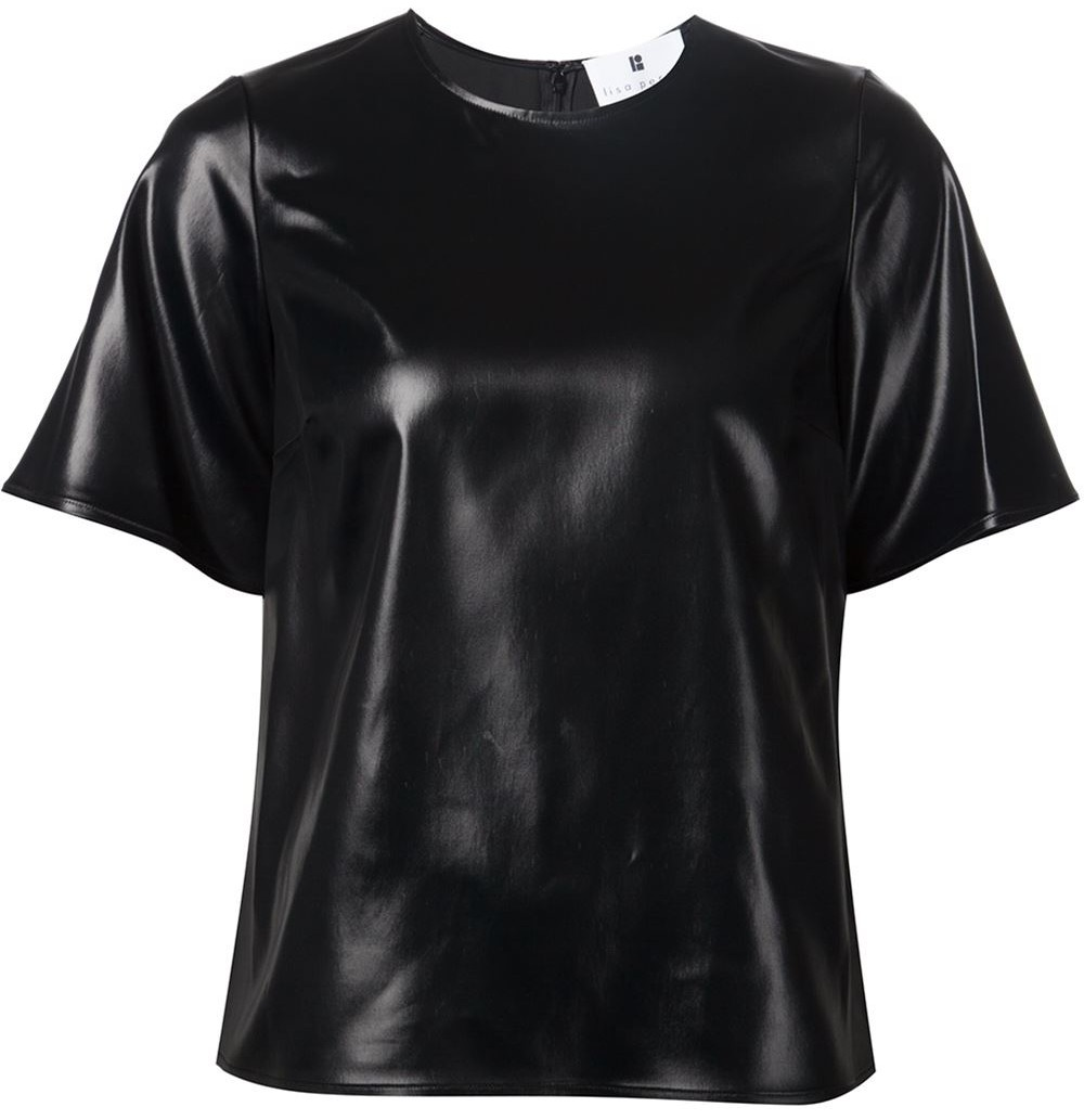 Black 'Cire' top from Lisa Perry