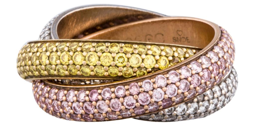 Cartier Diamond Trinity Ring