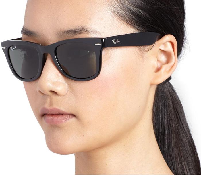 fb7071968 Ray Ban black Folding 50MM Wayfarer Sunglasses - My Fashion Wants