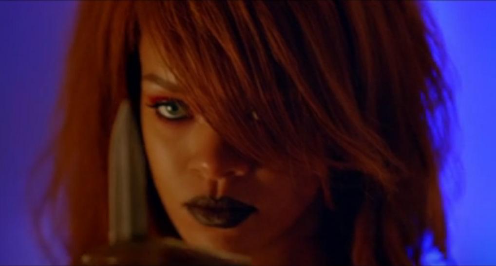 Rihanna Bitch better have my money video screenshot