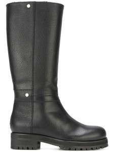 Jimmy Choo debate black knee high boots