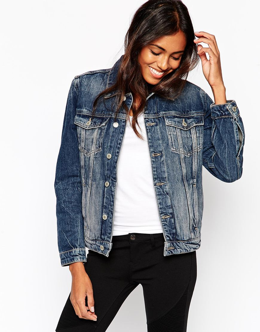 MiH Jeans Denim Jacket With Liner