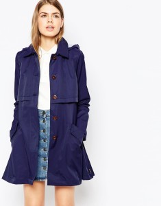 Parka London indigo blue Hart Parka original price $358.30 sale price $241.85