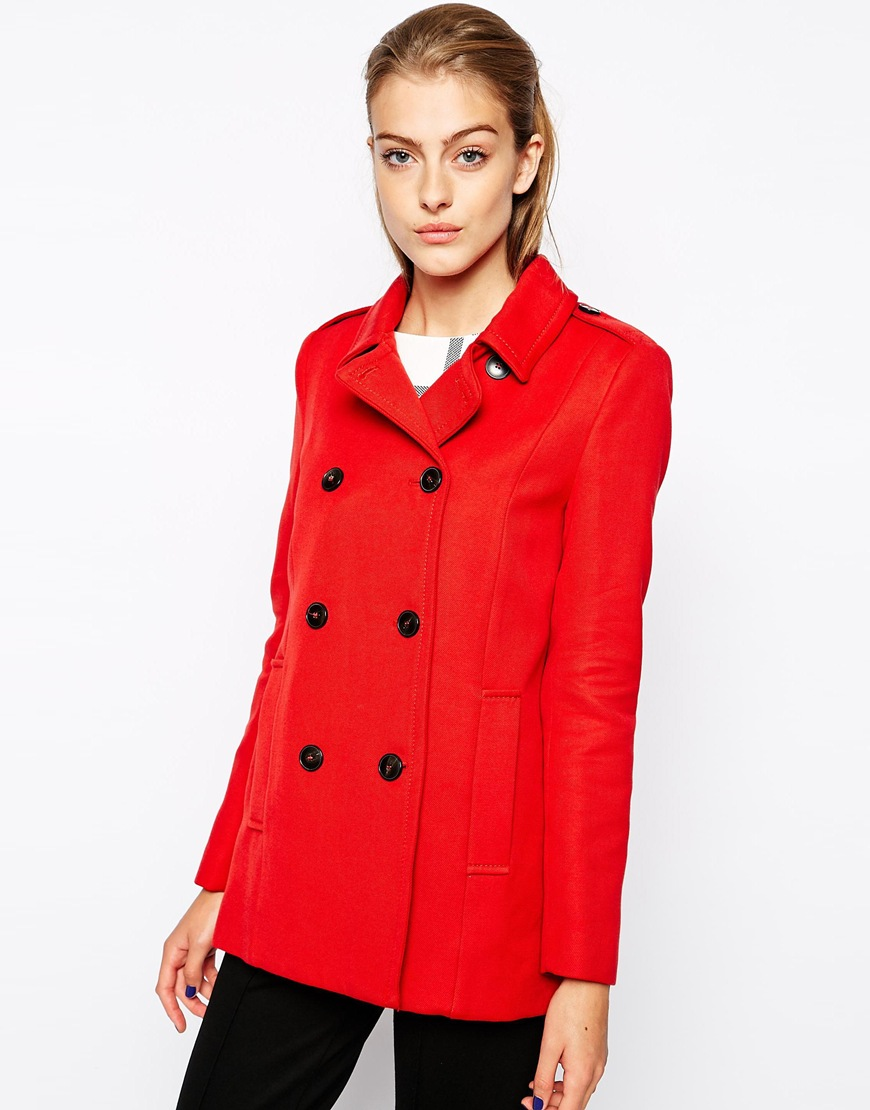 Red Mango Double Breasted Peacoat orignial price $185.69 sale price $64.49