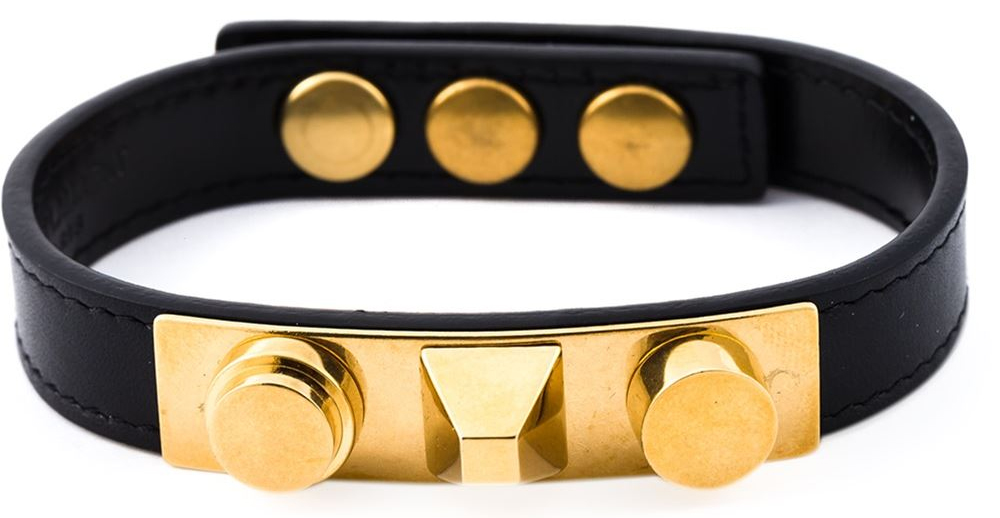 Saint Laurent Clous De Paris bracelet