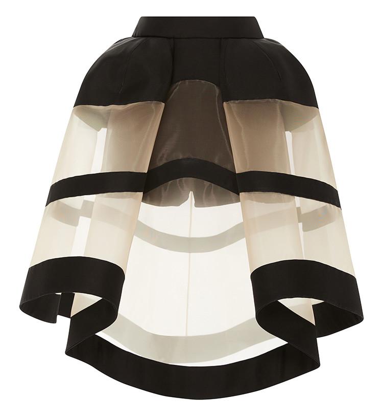 Delpozo crinoline skirt