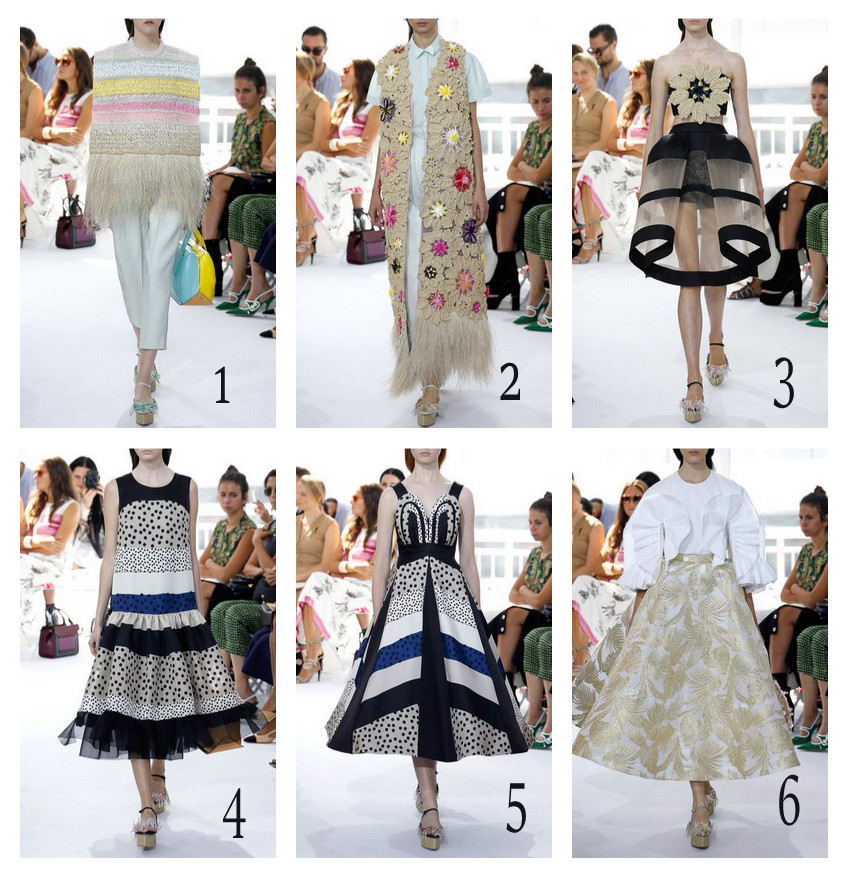 delpozo spring summer 2016 outfits