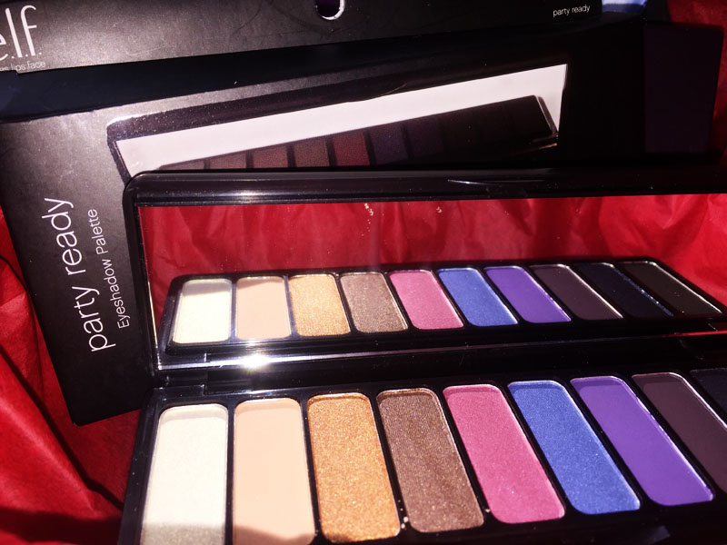 e.l.f. eyes lips face day to night eyeshadow palette party ready