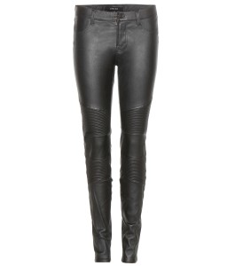 J Brand black Tonya 100 percent leather leggings 1714 dollars