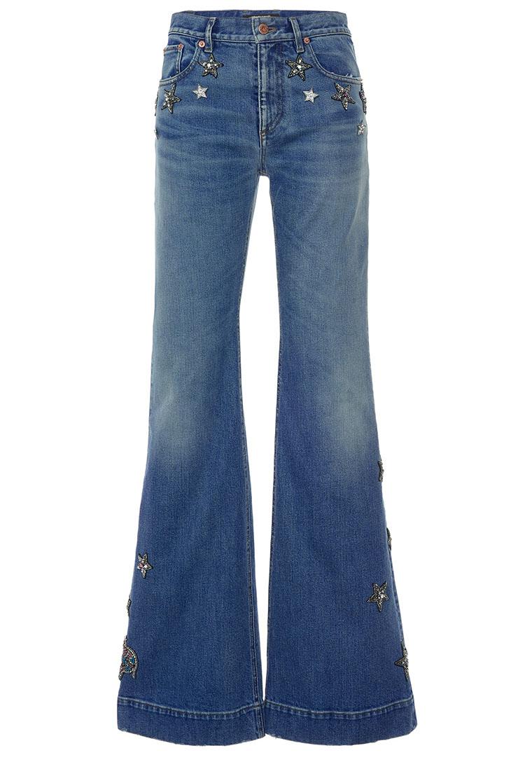 Roberto Cavalli High Rise Flared Jeans