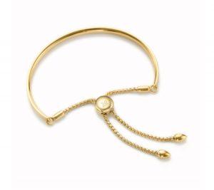 Monica Vinader Gold Vermeil Fiji Chain Bracelet - Gold