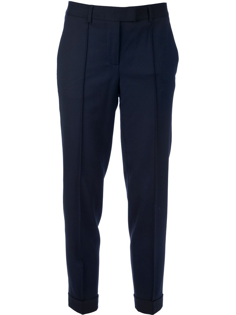 Alberto Biani Tapered leg trouser