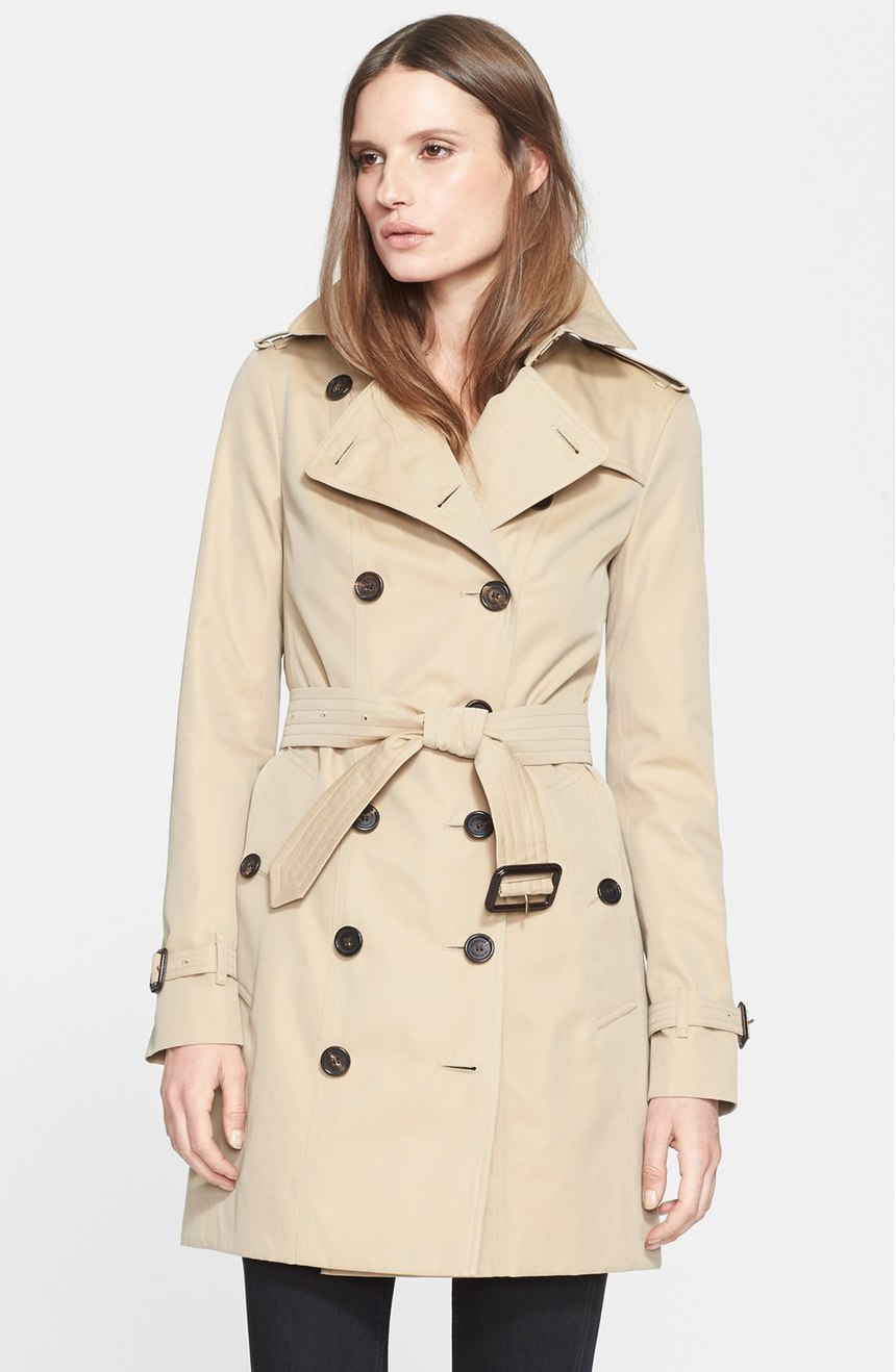 Burberry London Sandringham Slim Trench Coat