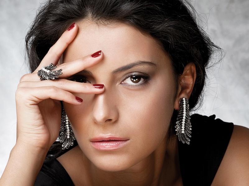 Cantamessa Piuma Earrings 27880.00 via ahalife - Shop Ahalife