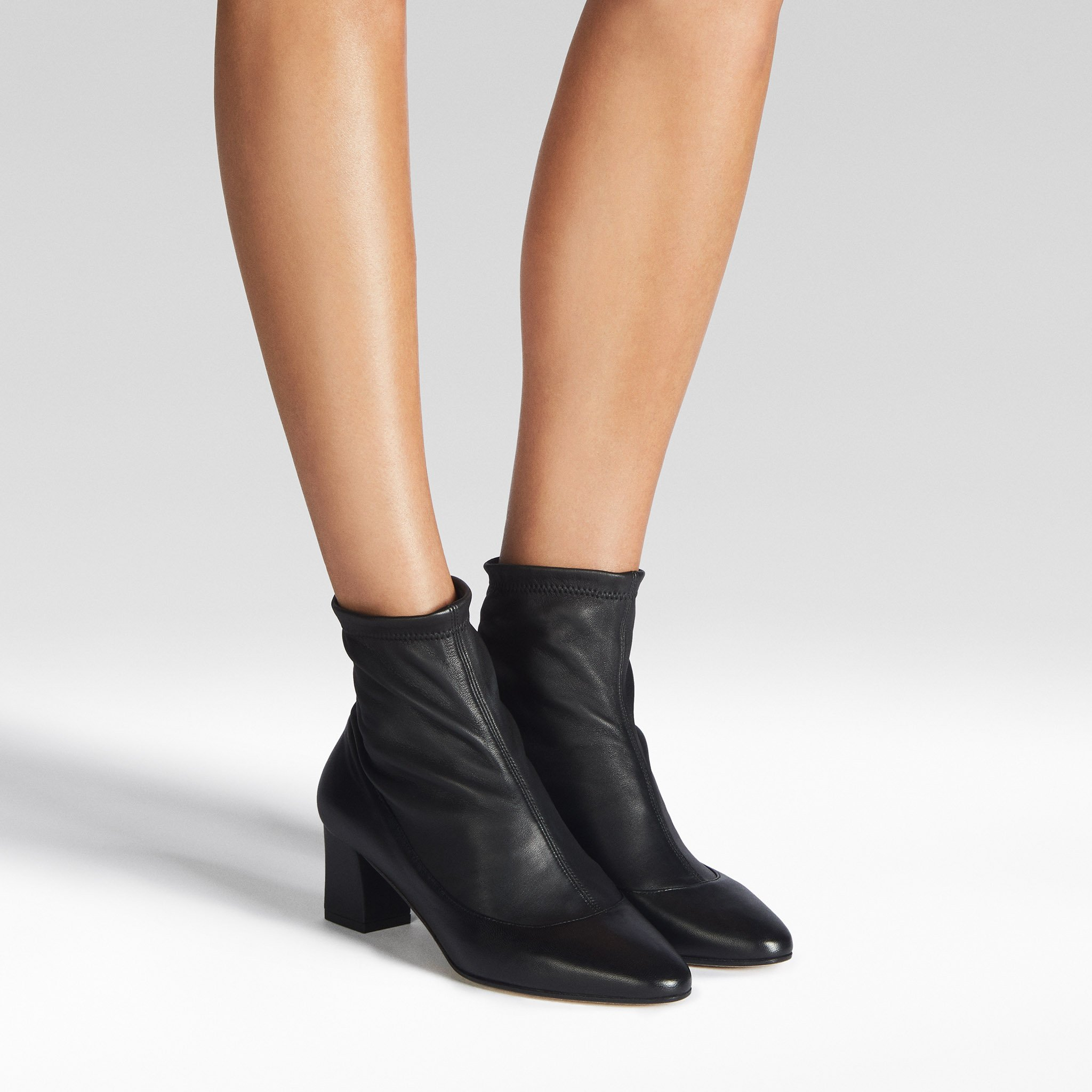Tamara Mellon boots - caress stretch nappa leather boots