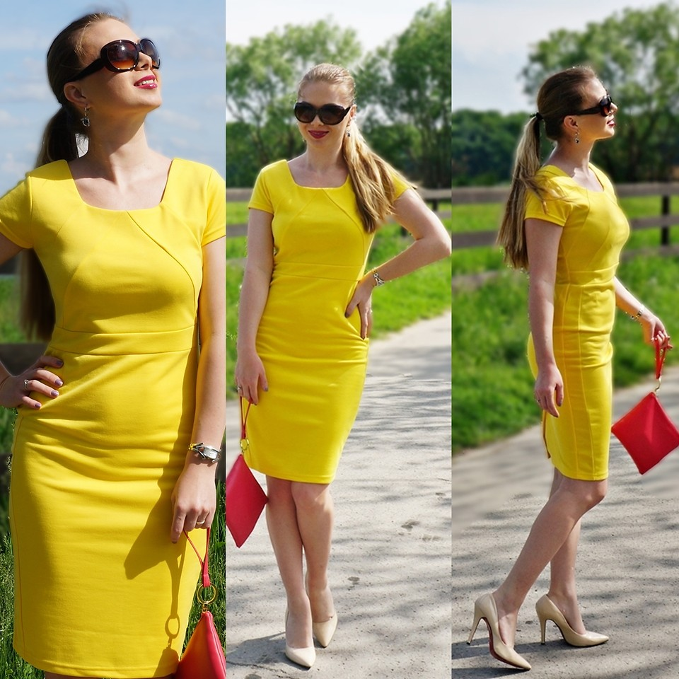 What Color Shoes To Wear With A Yellow Dress - Avenuesixty-4123
